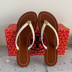💯BRAND NEW TORY BURCH  LEATHER SANDAL